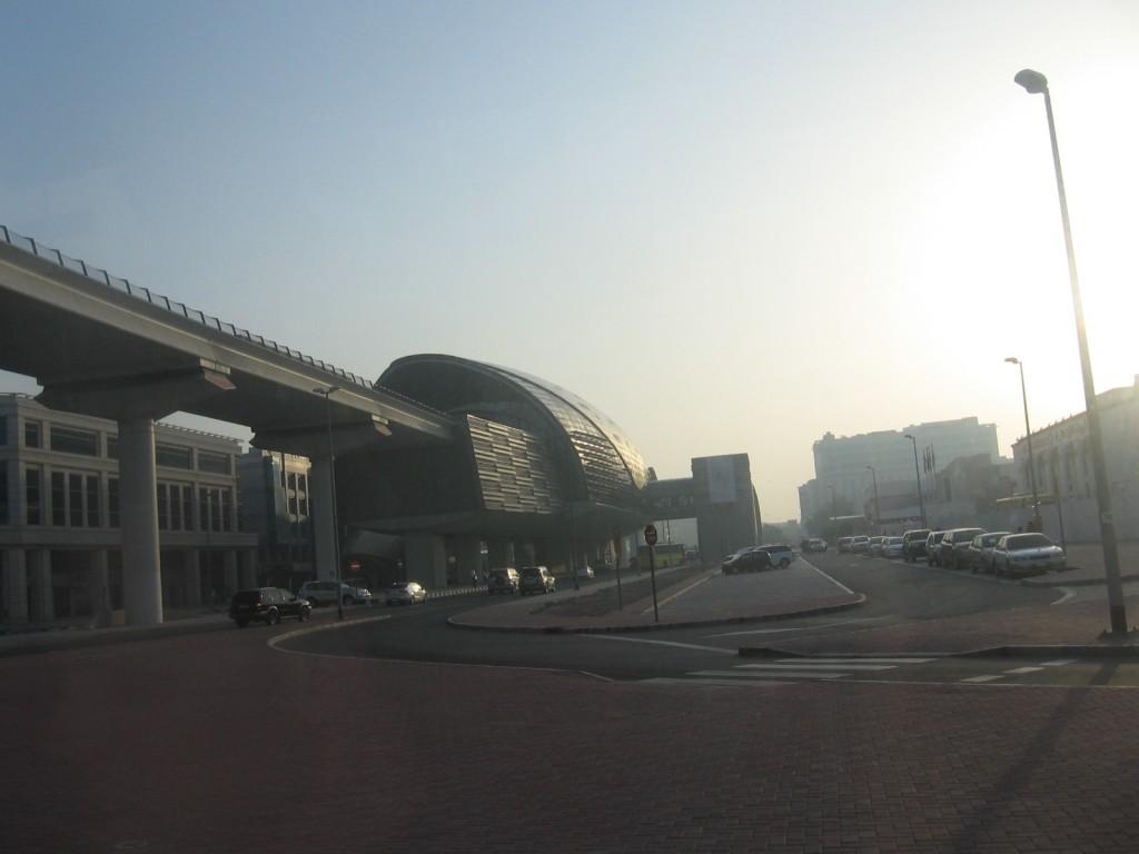 V Dubaji cestou na letiště