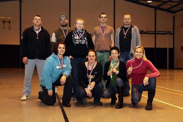Rytíři na indooru 2012 - bronz