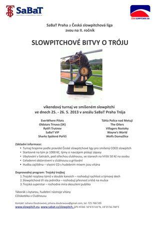 Pozvánka do Tróji 2013