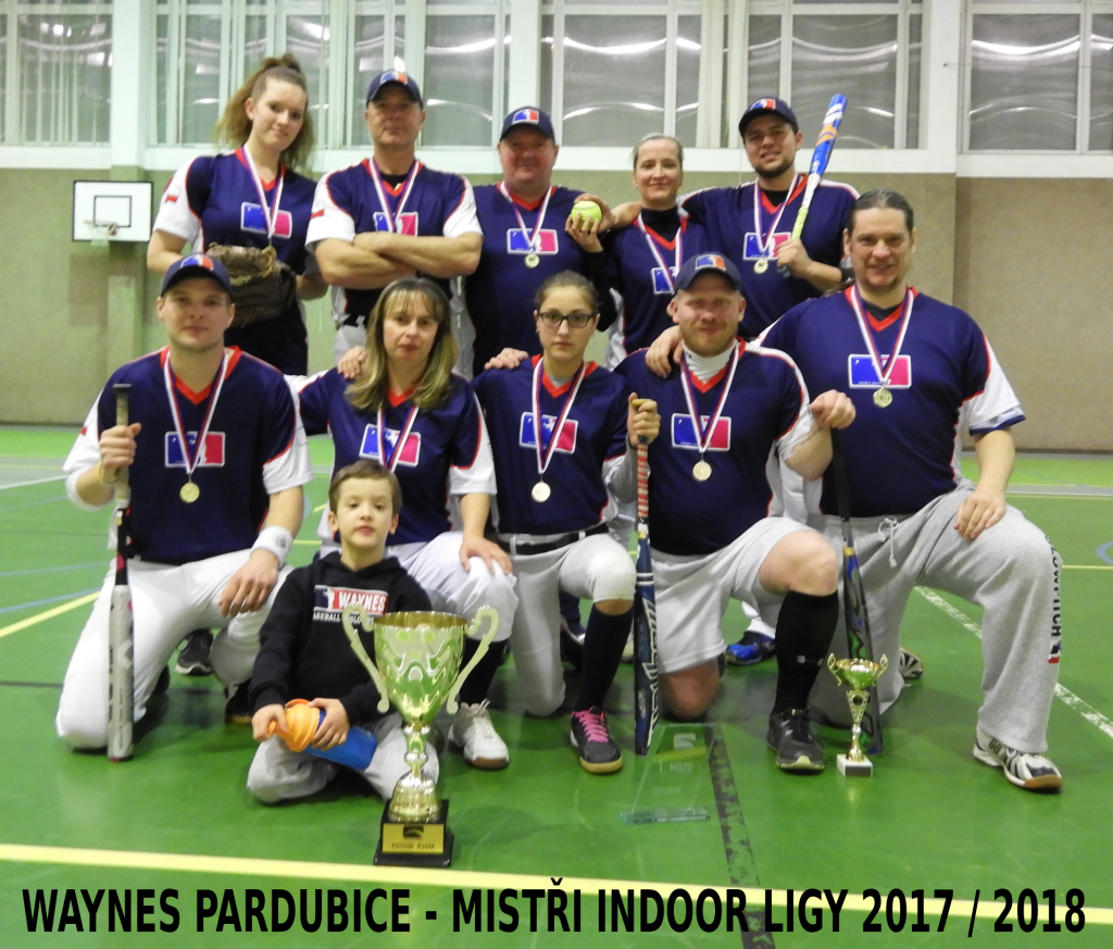 Mistry Indoor ligy jsou Waynes Pardubice