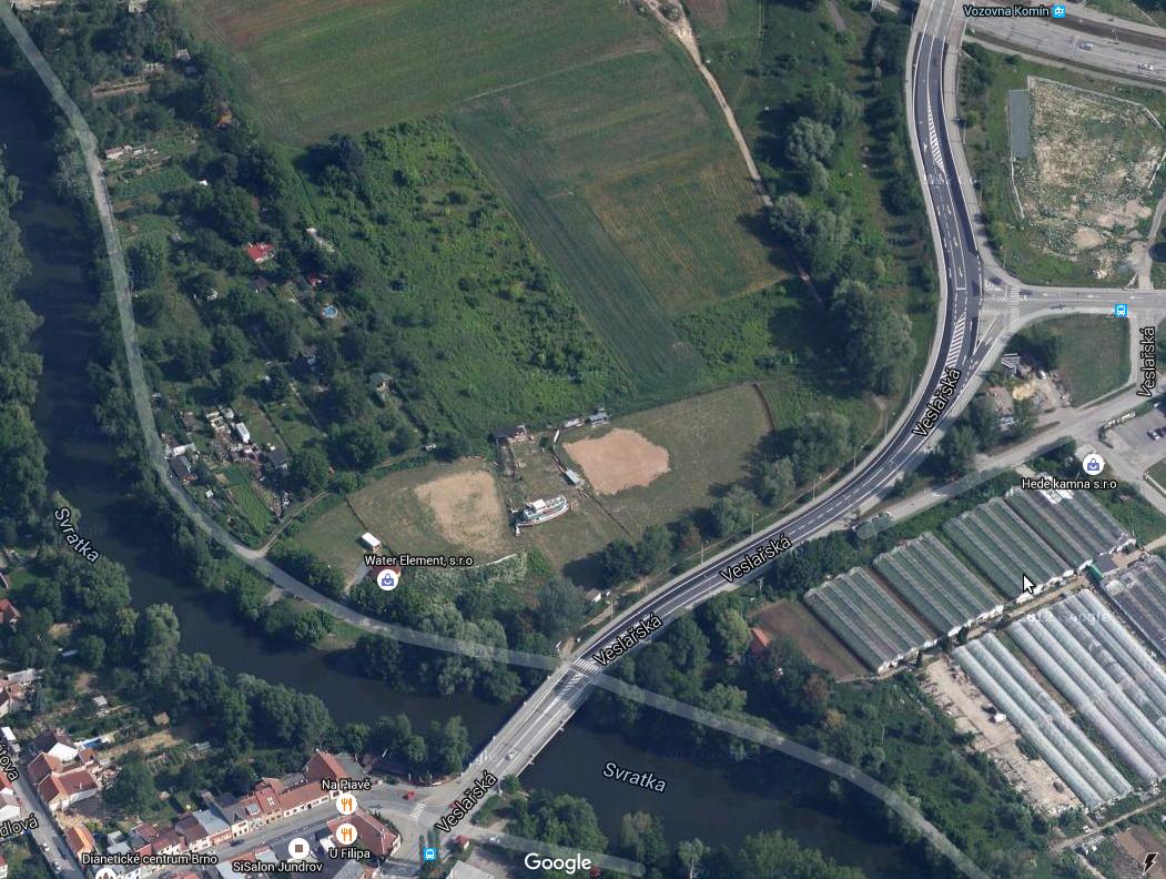 Areál Hrochů Brno