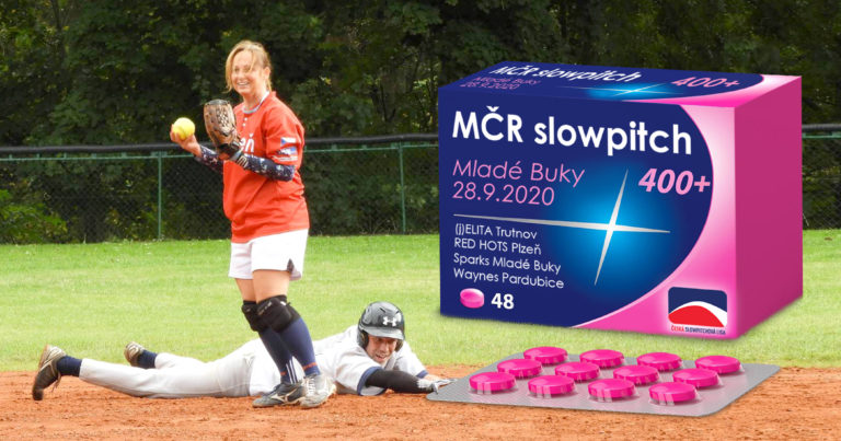 MČR Slowpitch 400+ 2020