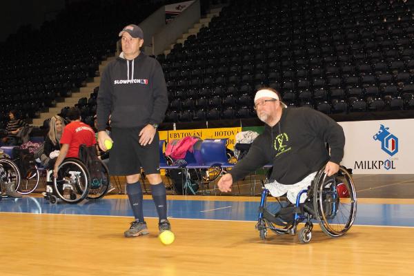 Trénink - Zdeněk Petrásek a Tomáš Kvoch | foto Matěj